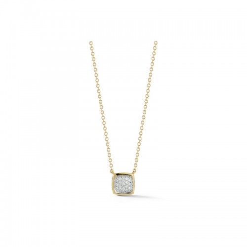 A & Furst Gaia Small Pendant Necklace with Diamonds, 18k Yellow and White Gold