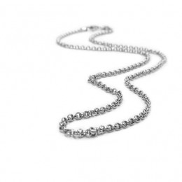 Sterling Silver Chain Thin Rolo