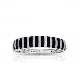 Regal Stripe Onyx Bangle