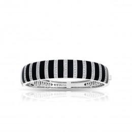 Regal Stripe Onyx Bangle