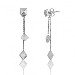 Chimento Armillas Pyramis pendant earrings