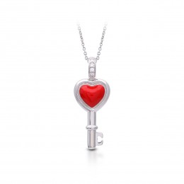 Love Is The Key Pendant