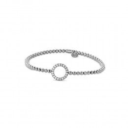 Hulchi Belluni Stretch Bracelet, 18K White Gold