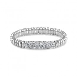 Hulchi Belluni Stretch Bracelet, 18K White Gold