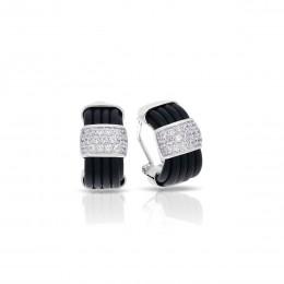 Adagio Black Earrings