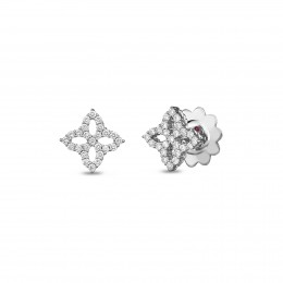 ROBERTO COIN SMALL EARRING WITH DIAMONDS