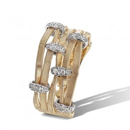 Marrakech Onde Diamond Multi Strand Ring
