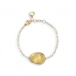 "Marco Bicego ""Lunaria"" 18 Karat Yellow Gold Second Size With One Element Bracelet."