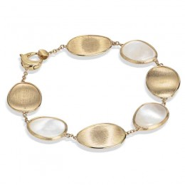 Lunaria Gold & White Mother of Pearl Bracelet