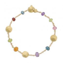 Africa Gemstone Single Strand Bracelet
