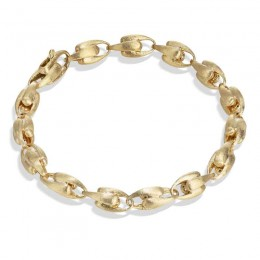 Lucia Yellow Gold Small Link Bracelet