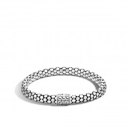 Dot 6.5MM Bracelet in Silver