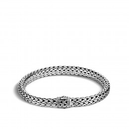 Classic Chain 7.5MM Bracelet in Silver