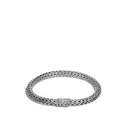 Tiga Classic Chain 6.5mm Bracelet in Silver