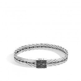 Modern Chain Silver Small Bracelet