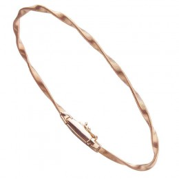 Marco Bicego Marrakech Single Strand 18Kt. Rose Gold Bracelet.