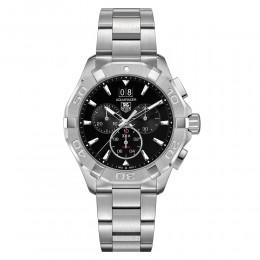 Aquaracer 300M Steel Bezel Quartz Chronograph