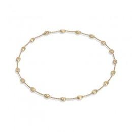 Siviglia Gold Medium Bead Short Necklace
