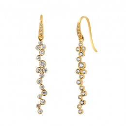 SYNA Champagne Bubbles Earrings