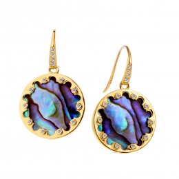 SYNA Mogul Shell Earrings