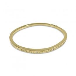 Matthias Claire Dream Collection I Love You Bracelet Size 7