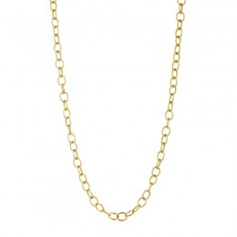 Syna 30 inch 18kt.yellow gold thick link chain.