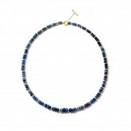SYNA Black Opal Mogul Bead Necklace
