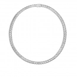 Dot 6.5MM Necklace in Silver
