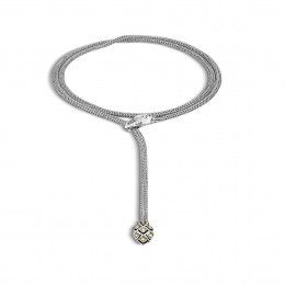 Legends 5MM Necklace in Silver and 18K Gold