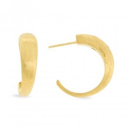 Marco Bicego® Lucia Collection 18K Yellow Gold Medium Hoop Earrings