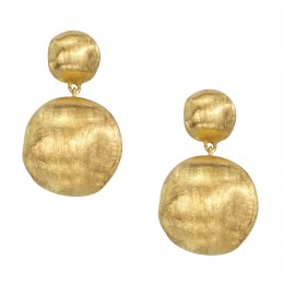 Marco Bicego 18K Yellow Gold Africa Collection Earrings.