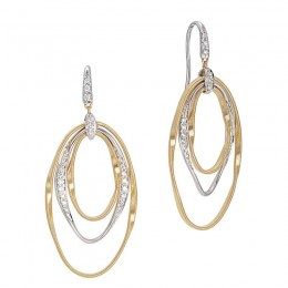 Marrakech Onde Diamond Hand Twisted Earrings