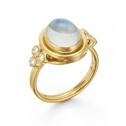 Temple St. Clair 18K Classic Oval Ring