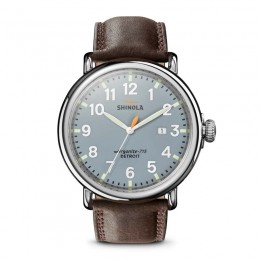 Runwell 47mm, Dark Brown Essex Watch