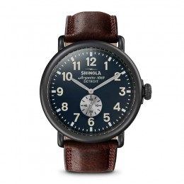 Runwell Sub Second 47mm, Cattail Leather Strap Watch