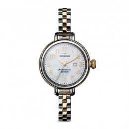 Birdy 3HD 34mm, MOP Silver/Gold Bracelet Watch