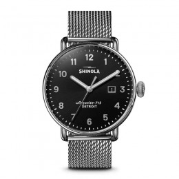 Canfield 3HD 43mm, Silver Bracelet Watch