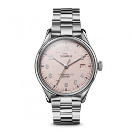 Vinton 3HD 38mm, Silver Bracelet Watch