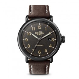 Runwell Automatic 45mm, Kodiak Leather Strap Watch