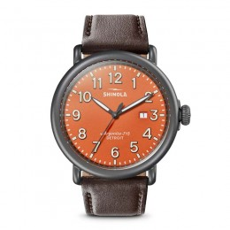 Runwell 3HD 47mm, Kodiak Leather Strap Watch