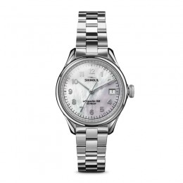 Vinton 3HD 32mm MOP, Silver Bracelet Watch