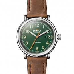 Runwell Automatic 45mm, British Tan Leather Strap