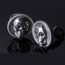 William Henry Black Diamond Cufflinks